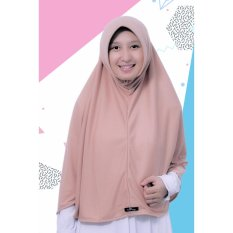 Bergo Kaos Alifa Daily HIjab By Pure Syaree Choco Milk