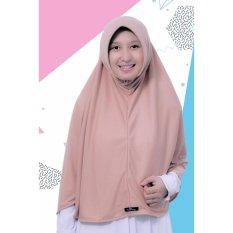 Spesifikasi Bergo Kaos Alifa Daily Hijab By Pure Syaree Choco Milk Online