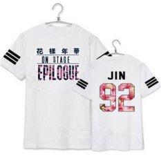 Toko Bts Young Forever Epilogue Album Jin Kemeja Casual Cotton Pakaian T Shirt T Shirt Lengan Pendek Tops T Shirt Dx249 Putih Intl Oem Tiongkok