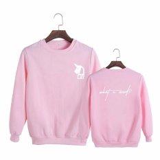 Jual Korea Fashion Exo Lay Apa Yang U Need Album Konser Katun Hoodie Pakaian Pullover Sweatshirt Kemeja Pt287 Pink Intl Online Di Tiongkok