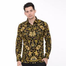 Alisan - Kemeja Batik Panjang - Kuning