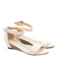 Beli Alivelovearts Boci Cream Wedges Baru