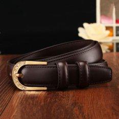 Beli All Match Widen Women S Belt Pin Buckle Leisure Time Wide Belt Korean Style Fashion Intl Lengkap