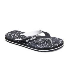 Spesifikasi Alldaysmart Ando Sandal Jepit Pria Dylan Hitam Putih Size 38 42 Terbaru