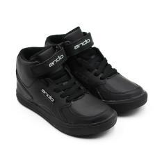 Miliki Segera Alldaysmart Ando Sepatu Sekolah Anak Laki Laki Boom Hitam Putih Size 34 37