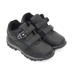 Jual Alldaysmart Ando Sepatu Sekolah Anak Laki Laki Power Lite 01 Velcro Ak Black Size 29 32 Alldaysmart Original
