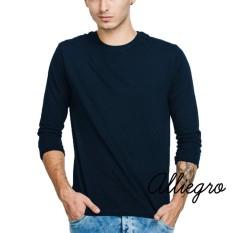 Alliegro Kaos Pria Polos Premium T-Shirt Distro Lengan Panjang
