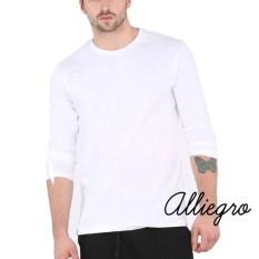 Harga Alliegro Kaos Pria Polos Premium T Shirt Distro Lengan Panjang Murah