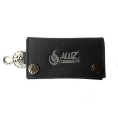 Aluz Ckc1 Dompet Wallet Leather Keychain Gantungan Kunci Mobil Motor Bagus Murah Kulit Asli Hitam Diskon Akhir Tahun