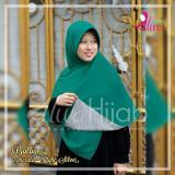 Review Alwa Hijab Jilbab Segi Empat Bolak Balik Premium Bergaransi Emerald Dan Light Silver Terbaru