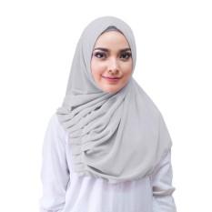 Alya Hijab Kerudung Instan - [Warna Abu-abu]