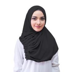 Alya Hijab Kerudung Instan - [Warna Hitam]
