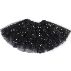 Amango Kilau Rok Tutu Anak Perempuan Memakai Rok Dewasa Tari Balet Pakaian Hitam