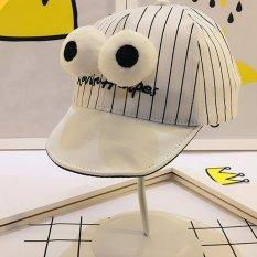Toko Anak Laki Laki Perempuan Bisbol Cap Adjustable Hats White Intl Amart Lengkap Tiongkok