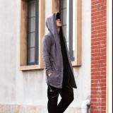 Jual Amart Fashion Mantel Hip Hop Bertudung Pria Lengan Panjang Murah Tiongkok