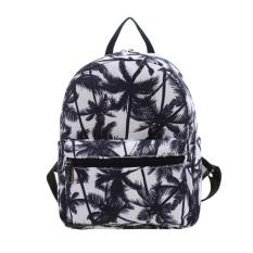 Harga Amart Fashion Small Cartoon Print Students Canvas Backpack College Sathel Multifunction Travel Bags Intl Baru