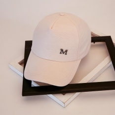 Jual Amart Fashion Wanita Baseball Hat M Letter Sunscreen Topi Intl Branded