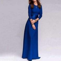 Amart Fashion Bola Wanita Pengiring Pengantin Gaun Prom Gaun Maxi Gaun Partai Formal Malam Panjang Gaun-Intl