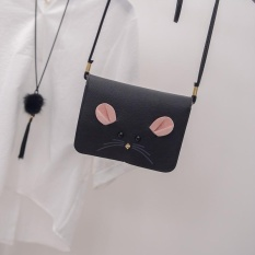 Harga Amart Fashion Korea Wanita Satchel Cute Little Mouse Kecil Square Messenger Pu Leather Purse Shoulder Bag Intl Asli Amart