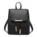 Beli Amart Leisure Backpack Fashion Ladies Pu Leather Bags Travel Schoolbag Drawstring Ransel Yang Bagus