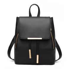 Toko Amart Leisure Backpack Fashion Ladies Pu Leather Bags Travel Schoolbag Drawstring Ransel Lengkap Di Tiongkok