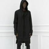 Jual Amart Gaun Bertudung Pria Mantel Hip Hop Kaus Longgar Lengan Panjang Jubah Musim Dingin Musim Gugur Hitam Intl Branded