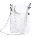 Review Toko Amart Phone Shoulder Bags Clutch Bag Knitting Bag For Iphone 4S 5 5S Mp3 4 White Intl Online