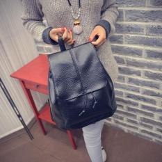 Amart Simple Fashion Korean Women Backpack Leather Vintage Shoulder Bag Big Capacity Intl Promo Beli 1 Gratis 1