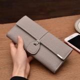 Toko Amart Fashion Sederhana Dompet Panjang Wanita Warna Solid Pu Kulit Vintage Clutch Bag Kartu Pemegang Casing Dompet Intl Termurah Tiongkok