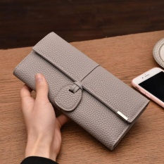 Harga Amart Fashion Sederhana Dompet Panjang Wanita Warna Solid Pu Kulit Vintage Clutch Bag Kartu Pemegang Casing Dompet Intl Yang Murah