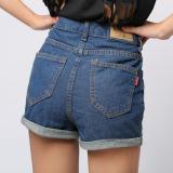 Harga Amart Denim With Model Ikat Tinggi Celana Jean Pants Bang Pendek Fullset Murah