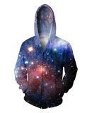 Toko Jual Menakjubkan Subur Galaxy Zip Up Hoodie Wanita Pria Tops 3D Cetak Nebula Ruang Hoody Sweatshirt Hoodies Pakaian Mantel Keringat Jumper Internasional