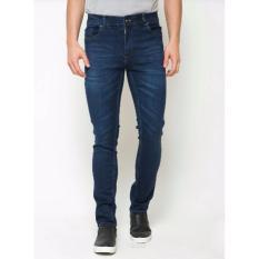 American Jeans Man's Skinny soft Denim Biru
