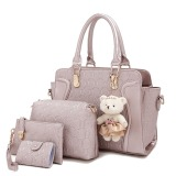 Review Tentang Amour Fashion Bag Best Seller Tas Import Wanita 4 In 1 1706 Gold