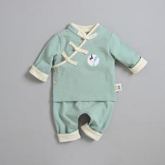 Anak Laki-laki Pakaian Adat Tiongkok Bayi Perempuan Musim Semi (Hijau Muda)