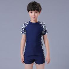 Mata Udara Panas Anak Laki-laki Remaja Ukuran Plus Kode Boys Celana Pendek Children baju Renang (Kamuflase Baju Renang)