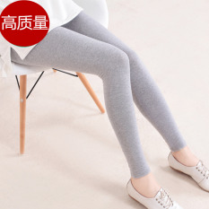 Anak Pakaian Luar Lee Jeans Musim Panas Celana Panjang Wanita Hamil Legging (Hitam-Lenzing Modal)