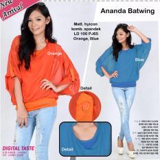 Ananda Batwing Blouse Batwing Murah Blouse Batwing Simple Yb Yutaka Diskon 50