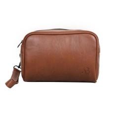 Spesifikasi Andbun Pouch Pria Wanita Xpouch 3 0S Pu Leather Brown Lengkap Dengan Harga