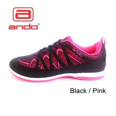 Diskon Ando Kimmy Sepatu Olahraga Sepatu Aktiv Warna Black Fuschia Indonesia