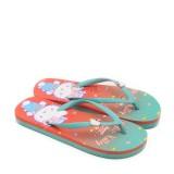 Ando Sandal Jepit Flip Flop Wanita Hk 1701 Mint Coral Size 36 40 Asli