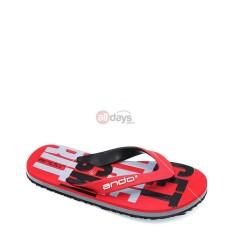 Jual Ando Sandal Jepit Pria Grafitty 02 Red Black Size 38 42 Di Jawa Timur