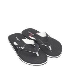Ando Sandal Jepit Pria Hawaii Master 02 - Hitam/Putih
