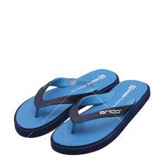Ando Sandal Jepit Pria New Hawaii Fashion - Navy/Blue
