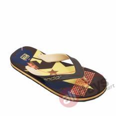 Jual Ando Sandal Jepit Pria Super 06 Coklat Tan Ando Branded