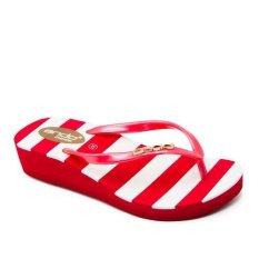 Toko Ando Sandal Jepit Wanita Sarasvati Merah Termurah
