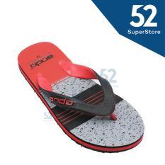 Harga Ando Sandal Jepit Flip Flop Pria Grafitty 06 Black Red Size 38 42 Yang Murah