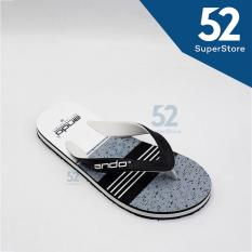 Toko Ando Sandal Jepit Flip Flop Pria Grafitty 06 Black White Size 38 42 Terlengkap