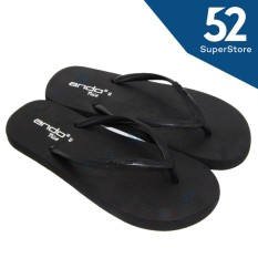 Ando Sandal Jepit/Flip Flop Wanita Nice Ladies - Black Ukuran 36/40