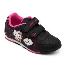Beli Ando Sepatu Sekolah Anak Perempuan Hk Cherry Black Fushia Pakai Kartu Kredit